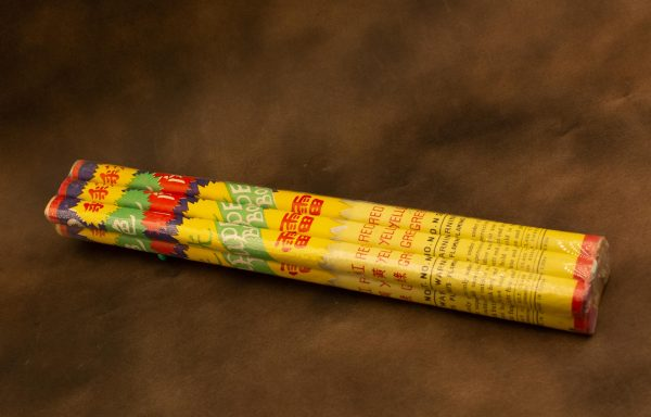 Red Yellow Green Roman Candles.